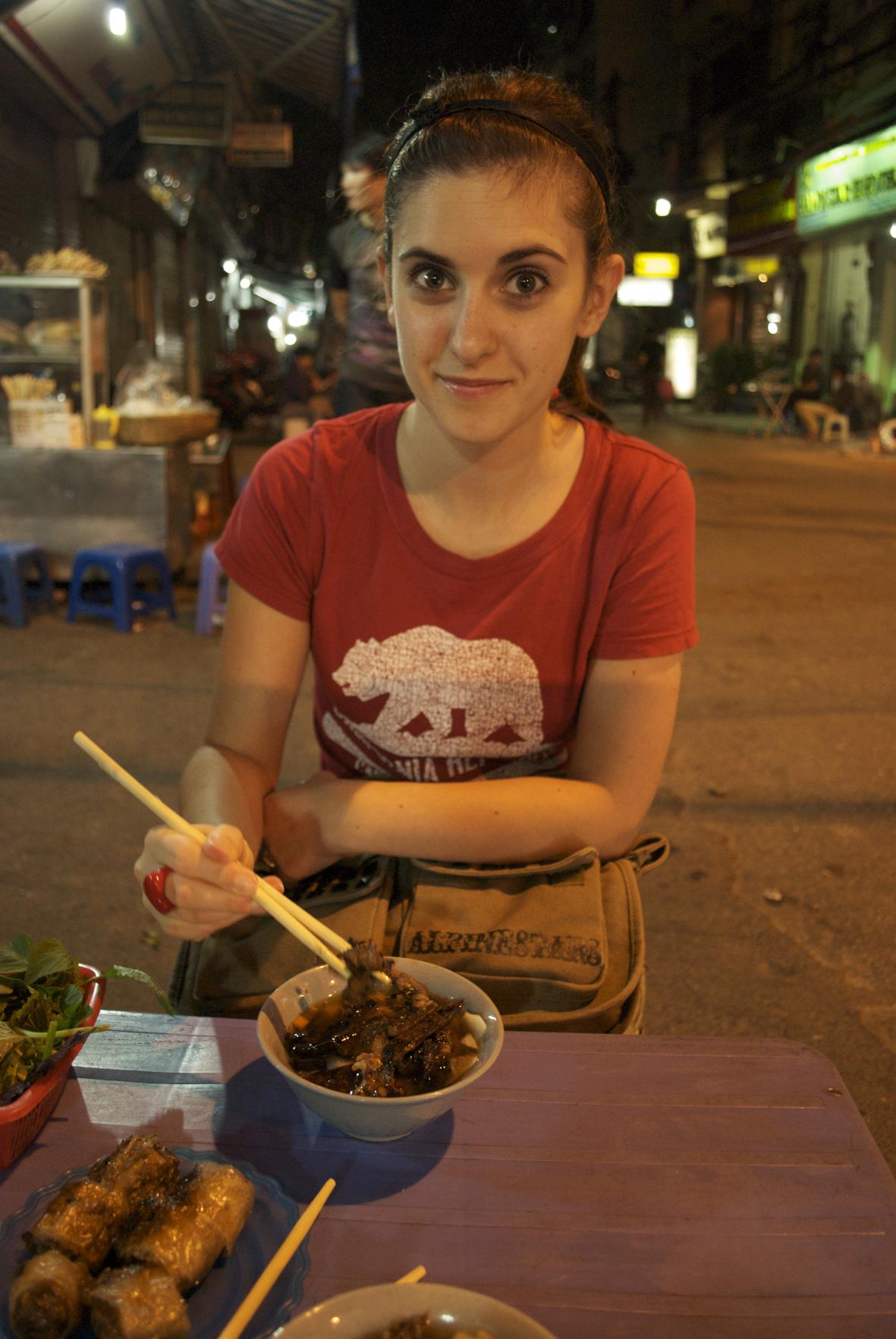 Bun cha, Hanoi, Vietnam street food