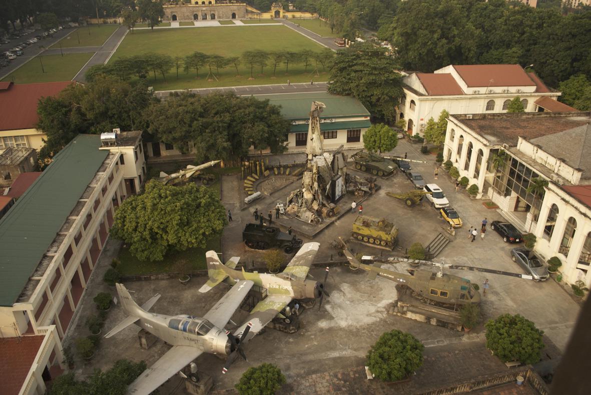 Hanoi war museum, vietnam